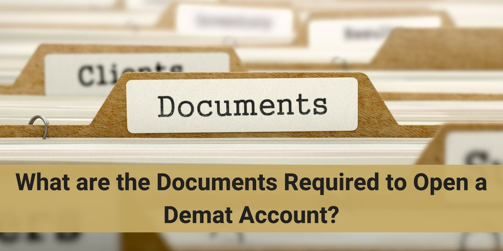 What are the formalities to open a Demat Account?